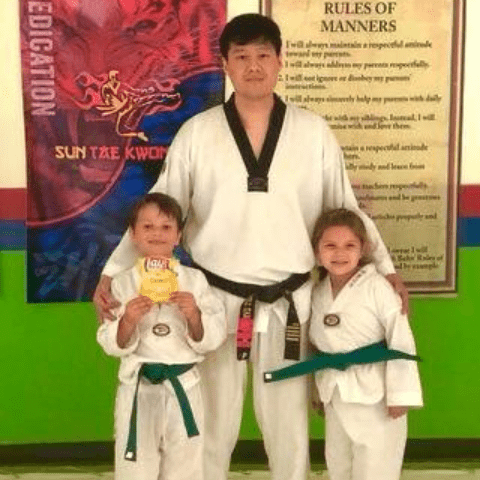 Master Han with students