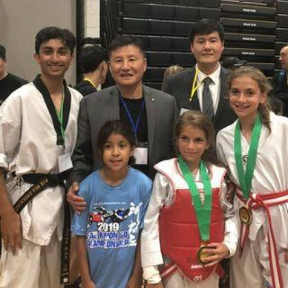 Master tak with students