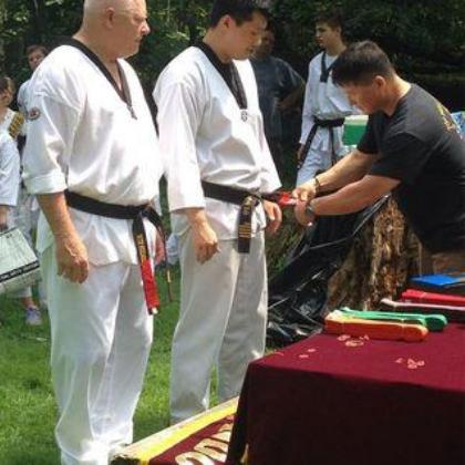Belt Ceremony